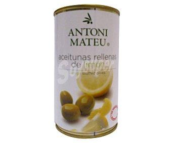 Antoni Mateu Aceitunas rellenas de limón 150 gr