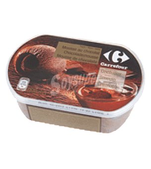 Carrefour Helado mousse de chocolate 900 ml
