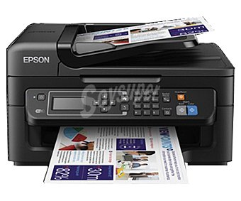 Epson Impresora multifunción workforce WF2630WF,WiFi, imprime, copia, escanea y envia fax, LCD Workforce 2630WF