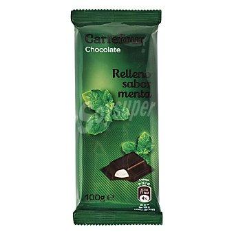 Carrefour Chocolate relleno sabor menta 100 g