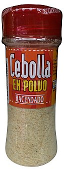 Hacendado Cebolla polvo (tapón rojo) Tarro 60 g