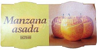 Hacendado Postre manzana asada 2 unidades de 120 g - 240 g