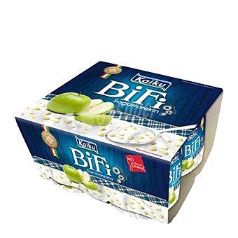 Kaiku Bifi con manzana Pack 4x125 g