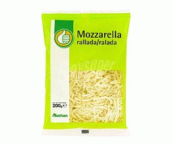 Productos Económicos Alcampo Rallado Mozarella 200 Gr. 200g