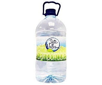 SIETE VALLES Agua mineral 5 Litros
