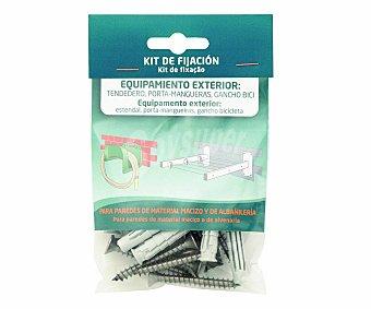 Arregui Kit de fijación para equipamiento exterior arregui