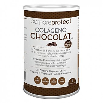 Corpore Protect Colágeno de chocolate sin gluten 250 G 250 g