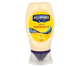 HELLMANN'S Mayonesa bocabajo Envase de 250 ml