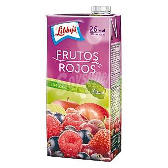 Libby's Zumo frutos rojos con stevia sin azúcar Brik de 1 l