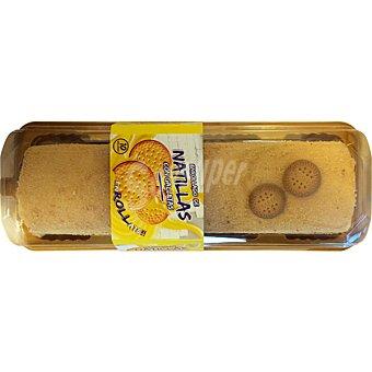 GRANDERROBLE Brazo de natillas con galletas blister 750 g