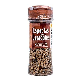 Hacendado Especias caracoles (tapón marron) Tarro 35 g