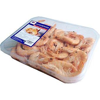 OCEAN CREST Langostinos cocidos 30-40 piezas/kg Bandeja 1 kg