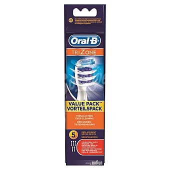 Braun EB30-5 recambio de cepillo dental trizone 5 unidades