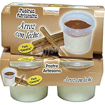 ADRIANSITO arroz con leche  pack 2 unidades 250 g