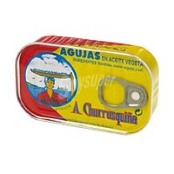 Churrusquiña Aguja en aceite vegetal Lata 125 g