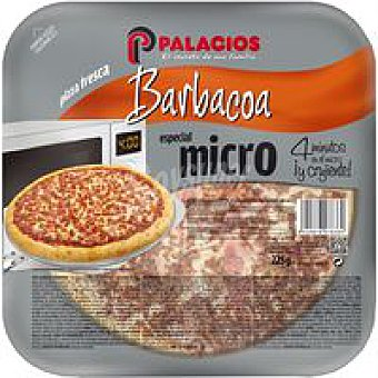 Palacios Pizza mini micro barbacoa 1 unid