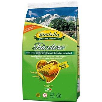 Farabella Tricolore espirales tricolor sin gluten y sin lactosa Envase 500 g