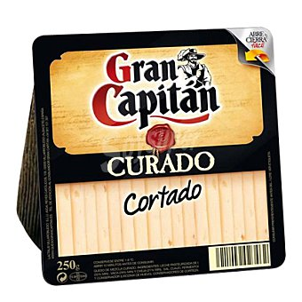Gran Capitán Cortaditas curado cuña 250 g