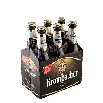 Krombacher Cerveza ley pureza Pack 6 x 33 cl