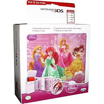 NINTENDO Bolsa Pull And Go Folio Princesas Disney Para 3DS / 3DS XL