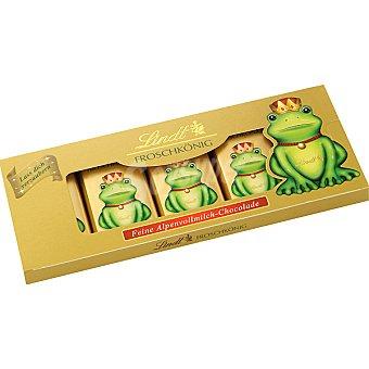 LINDT REY RANA Chocolatinas Envase 80 g