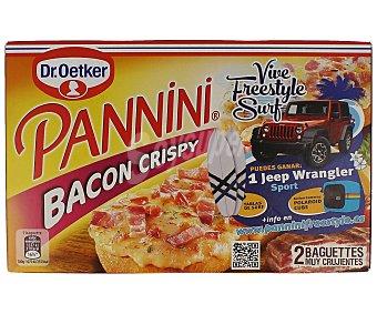Dr. Oetker Pannini bacon crispy Caja de 250 g