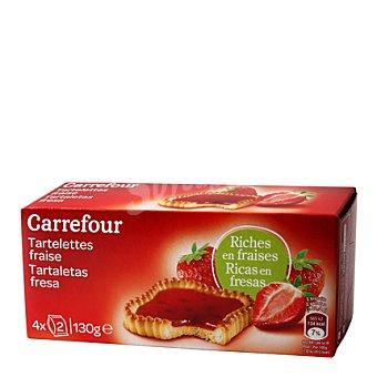 Carrefour Tartaleta de fresa 130 g