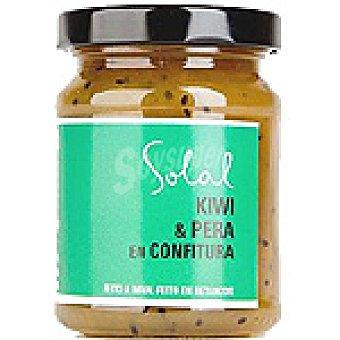SOLAL Confitura de kiwi pera Frasco 170 g