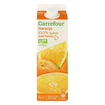 Carrefour Zumo de naranja 1 l
