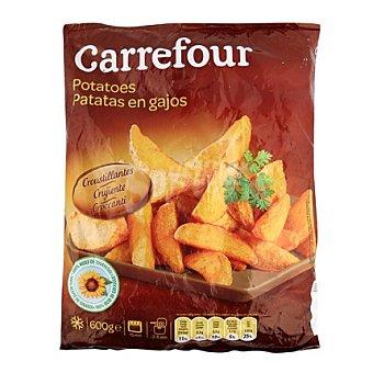 Carrefour Patatas prefritas con piel 600 g