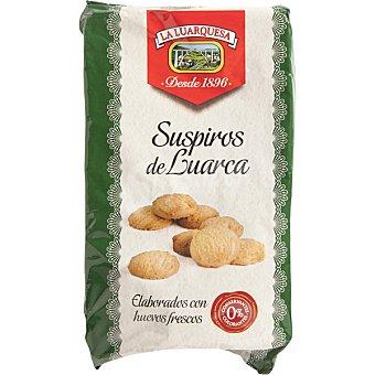 La luarquesa Suspiros de Luarca galletas típicas de Asturias Bandeja 15 unidades