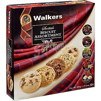 Walkers Galletas surtidas Cookies Biscuit Estuche 500 g