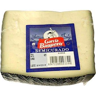 GARCIA BAQUERO Queso semicurado cuña 405 g