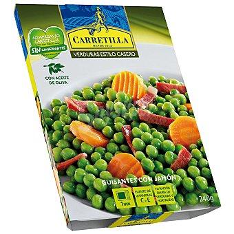 Carretilla Estilo casero guisantes con jamón y zanahoria Estuche 240 g