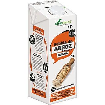 Soria Natural Bebida de arroz integral y quinoa ecológica sin lactosa Envase 1 l
