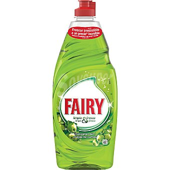 Fairy Ultra fresh lavavajillas a mano concentrado manzanas del campo botella 740 ml Botella 740 ml
