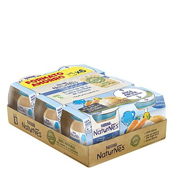 Naturnes Nestlé Tarritos verdurita a la huerta con filete de merluza Pack 6x200 g