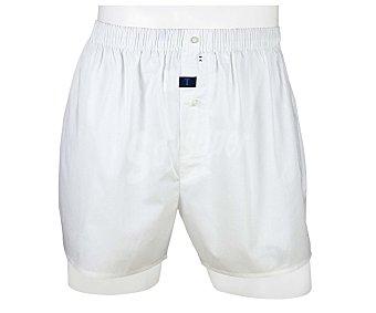 TRAPIO Bóxer de algodón, color blanco, talla M
