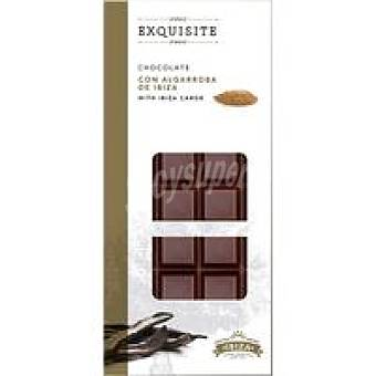 F. S. IBIZA. Chocolate de algarroba exquisite Tableta 100 g