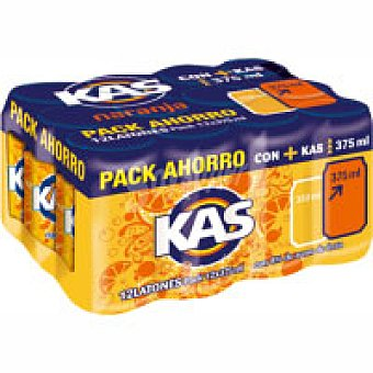 Kas Refresco de naranja Pack 12x37,5 cl