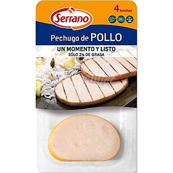 Serrano Pechuga de pollo 4 unidades (Envase 200 g)