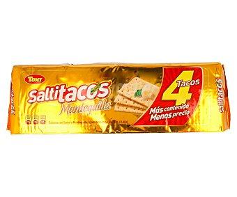 SALTITACOS Galletas saladas con sabor a mantequilla 394 gramos
