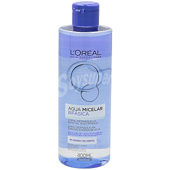 L'Oréal Paris Agua micelar bifásica pieles sensibles Bote 400 ml