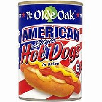 OLDE OAK Hot Dog American Lata 400 g