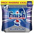 Lavavajillas Finish Quantum Regular Pastillas 100 lavados Finish