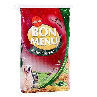 Bon Menu Affinity Alimento para perros receta campesina Bolsa 10 Kg