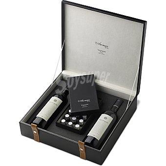 Valdubon Vino tinto reserva + set de 18 aromas Estuche 2 botellas 75 cl