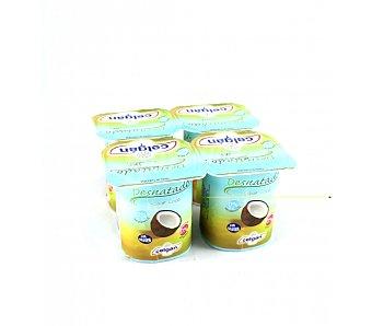 Celgan Yogur desnatado sabor coco Pack 4 x 125 g