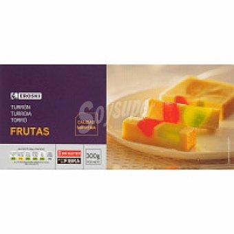 Eroski Turrón de frutas Caja 300 g