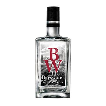 BAYSWATER Ginebra London dry Botella de 70 cl